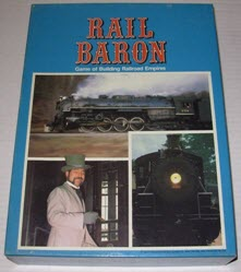 Rail Baron game box